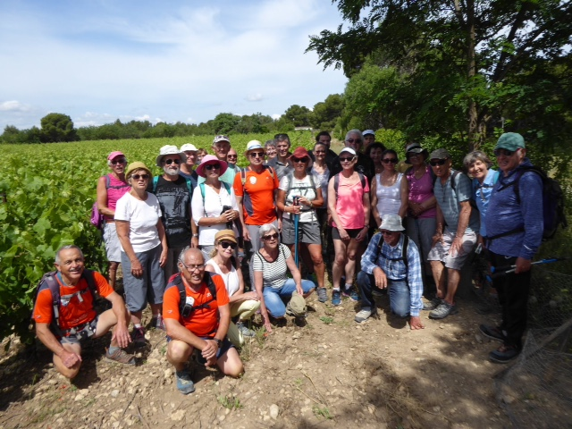 Rando vignoble 2018 photo group 12 km